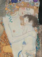 Quadro di mamma con bambino. Le tre età della donna. Gustav Klimt