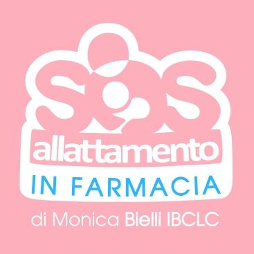 Logo Sos Allattamento in farmacia - Monica Bielli IBCLC
